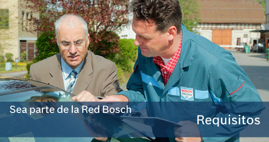 Bosch Servicio Requisitos